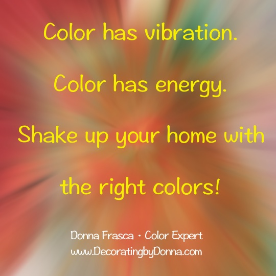 color has energy and vibration