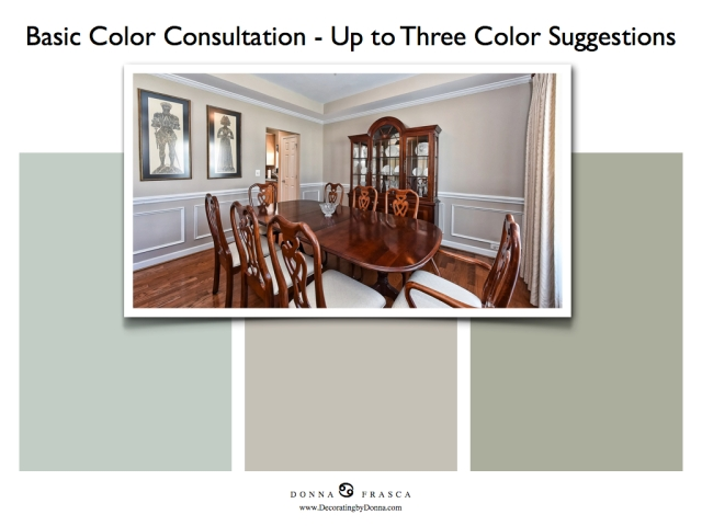 A basic color consultation for your home