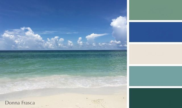 the perfect coastal colors