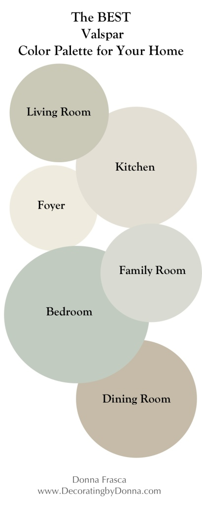 The Best Valspar Color Palette For Your Home Decorating By Donna Color Expert