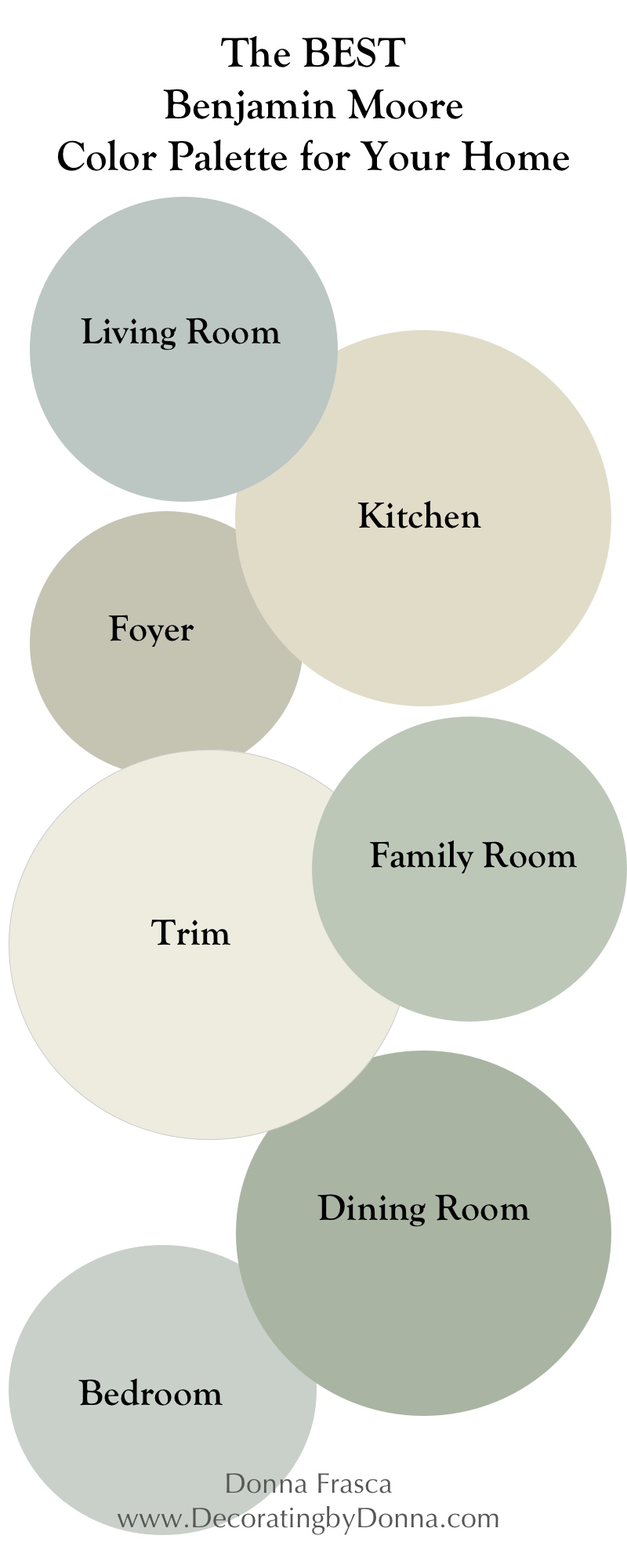the best benjamin moore coastal color palette for your home updated decorating by donna