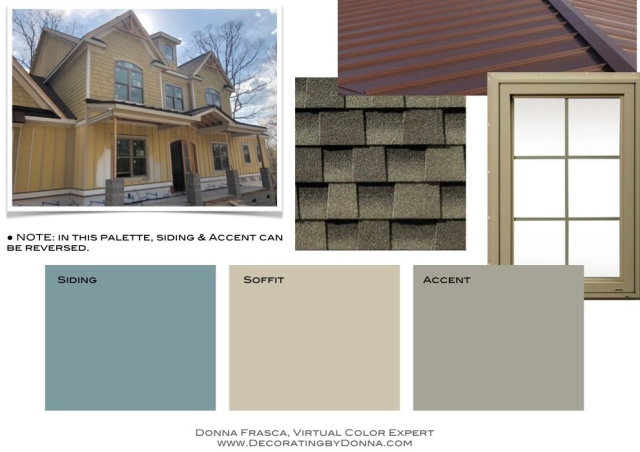 Color for my Craftsman Style Home
