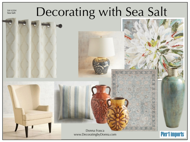 Decorating With Sea Salt by Sherwin Williams