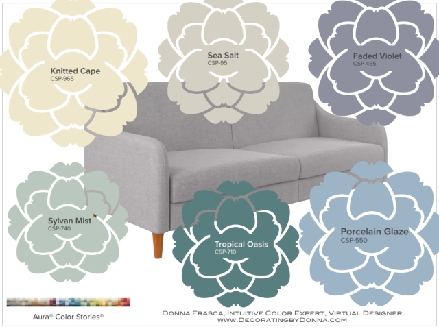 What Paint Colors Go With Gray Furniture Updated Decorating By Donna Intuitive Color Expert