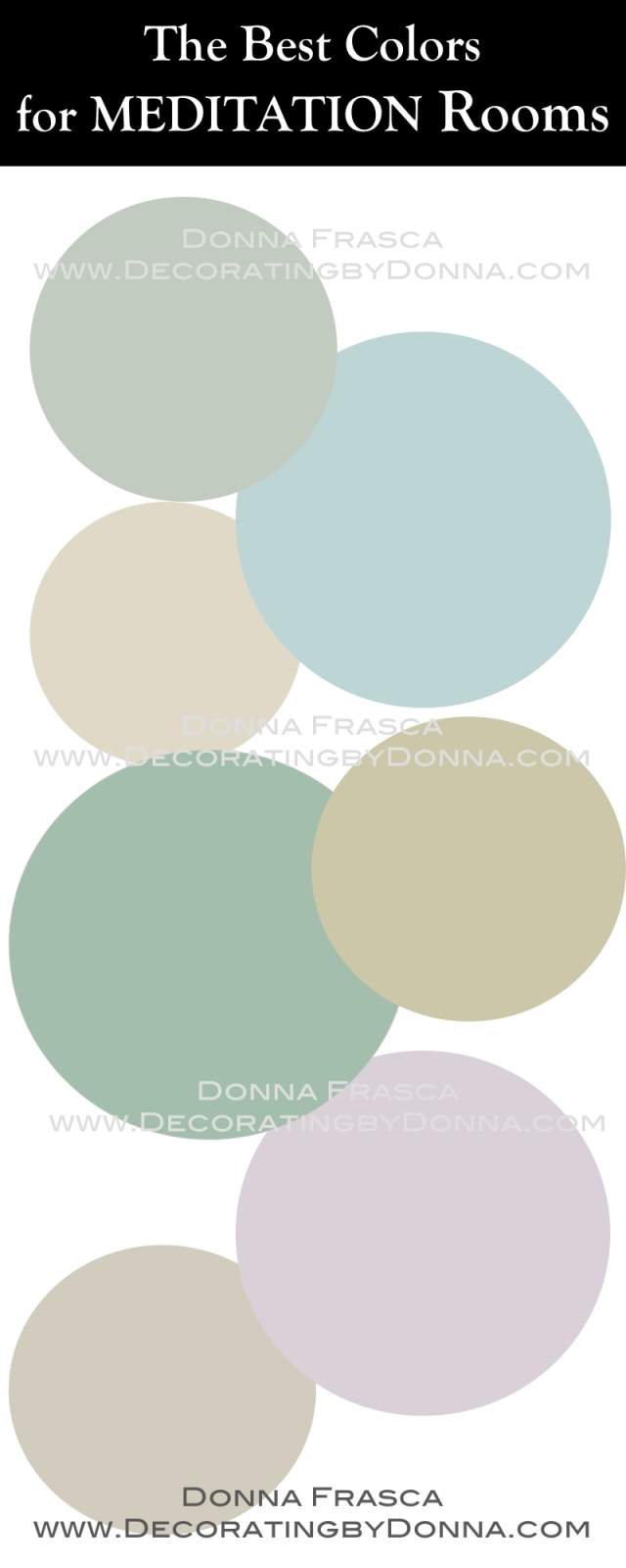 Color Choices for Mediations rooms