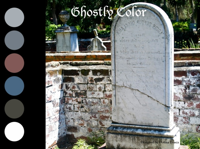 Ghostly Color In Cemeteries Can Be Beautiful