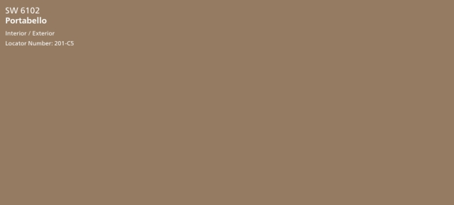 Portabello SW 6102 - Sherwin-Williams