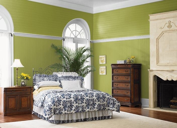 Can a bedroom have bold color?