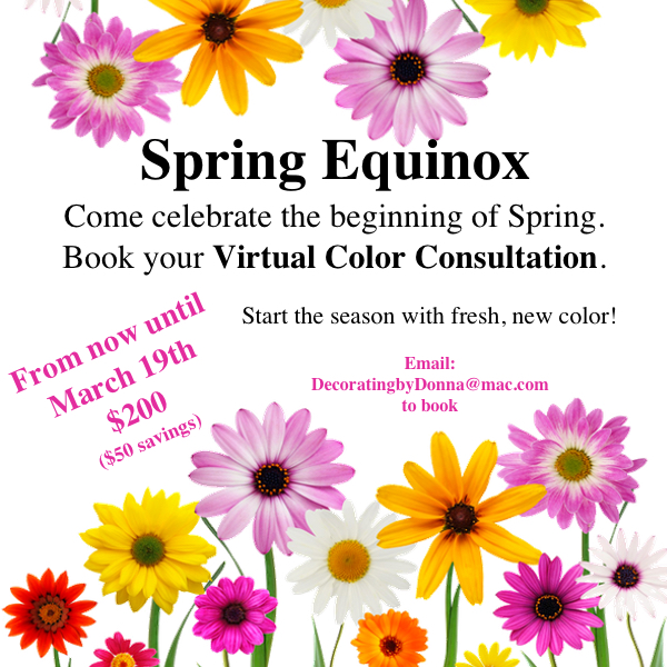 spring EQUINOX color for your home