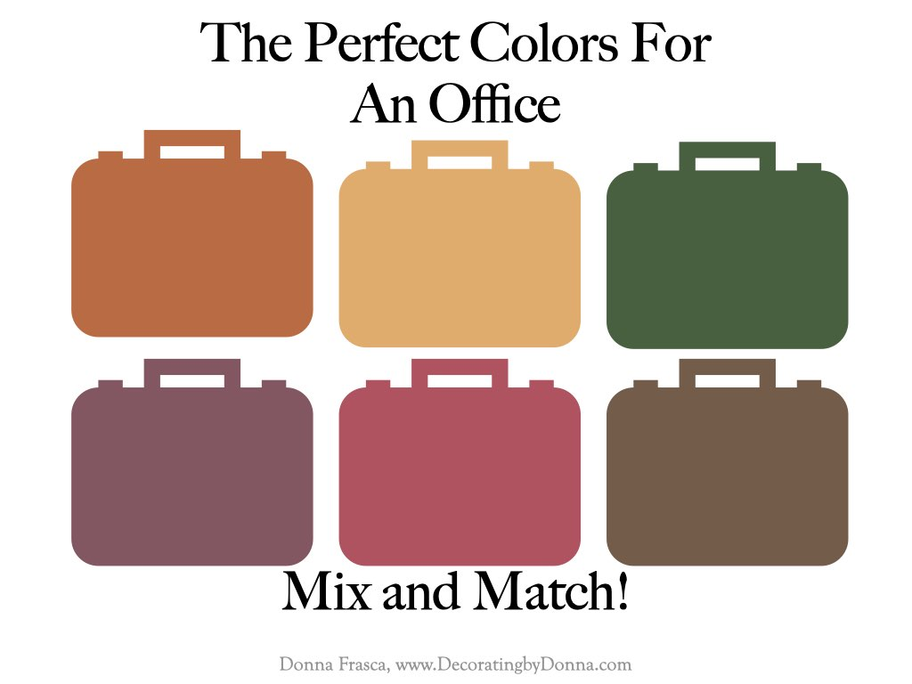 The Perfect Colors For An Office