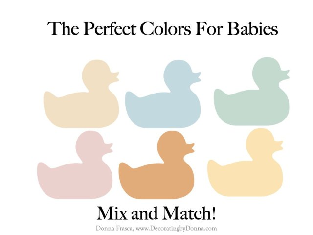 The Perfect Colors For Babies