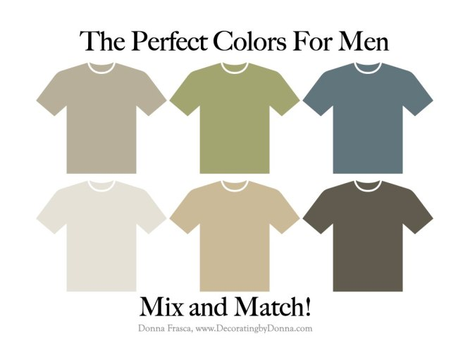 The Perfect Colors For Men