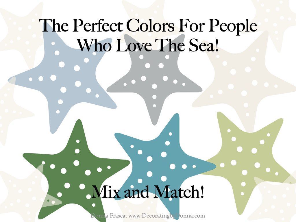 The Perfect Colors For People Who Love The Sea