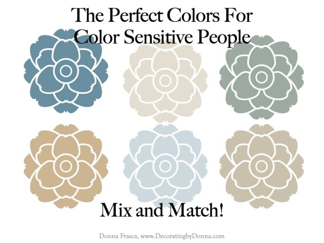 The Perfect Colors For Sensitive People