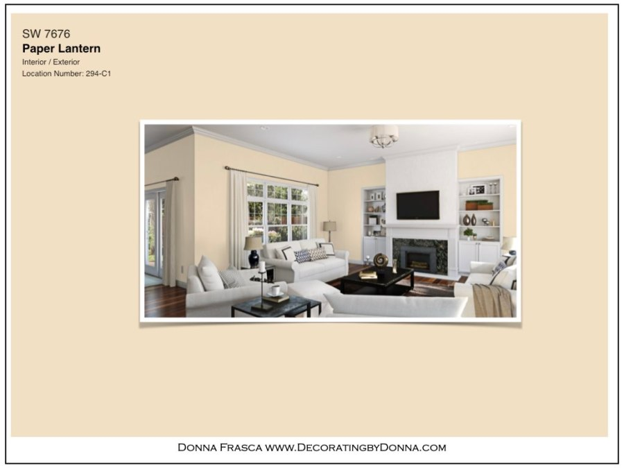 What color should I paint my living room if I love yellow