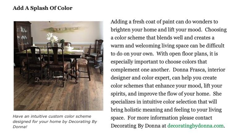 Color Expert Donna Frasca