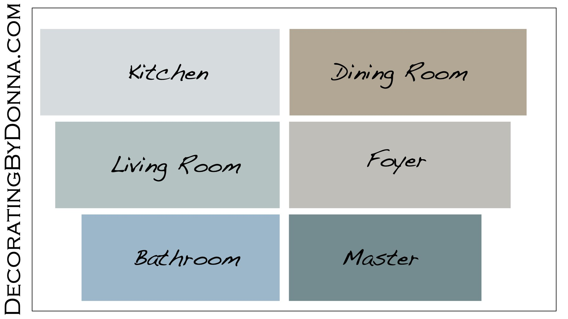 How can I choose color for my home