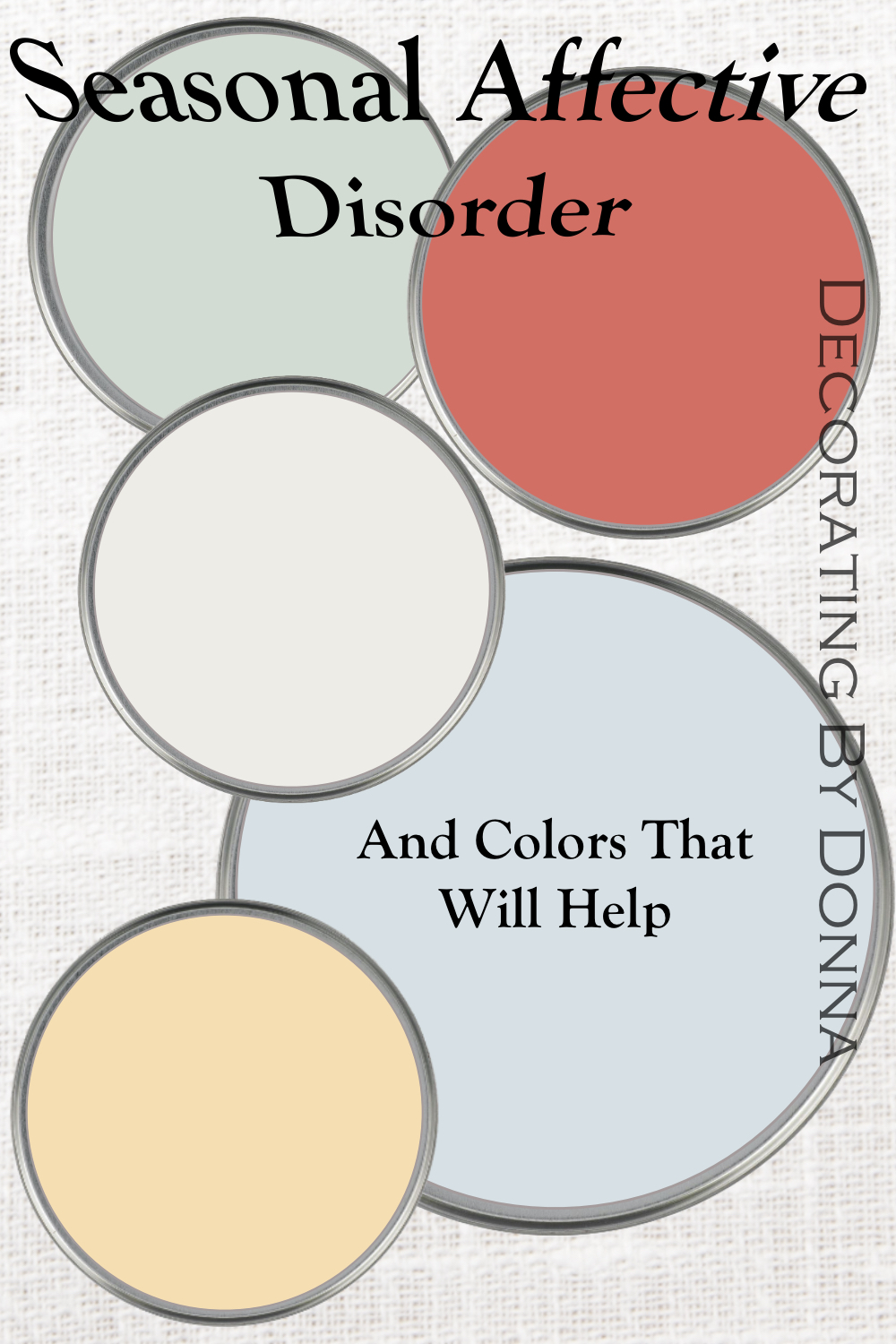 colors that will help seasonal affective disorder